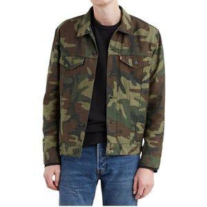 🆕Levi's | Camo Trucker Jacket